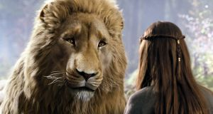 Aslan: What would a lion-shaped Christ figure from a cross-dimensional world of magic and myth sound like? Liam Neeson, obviously. Neeson voices Aslan in the film adaptations of CS Lewis's Chronicles of Narnia (2005-'10) and now if a lion speaks you expect it to have Neeson's voice.