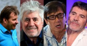 Golfer Nick Faldo, director Pedro Almodóvar, actor Jackie Chan and impresario Simon Cowell are among the celebrities linked with the Panama Papers
