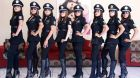 Queretaro police chief Rolando Eugenio Hidalgo Eddy had previously held a similar job in the state of Aguascalientes, where he formed a unit of women officers who wore high-heeled boots. Photograph: State of Aguascalientes