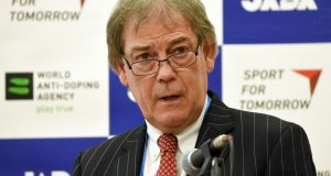 World Anti-Doping Agency director general David Howman. Photograph: Getty.