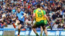 Dublin eased past Donegal at Croke park to reach the Allianz League final. Photograph: Inpho