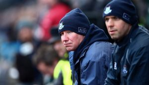 """Dublin  manager Jim Gavin at   Allianz Football League Division One semi-final in  Croke Park: """"I think the last quarter of the game fizzled out a bit, but Donegal do pose a lot of threats."""" Photograph: Cathal Noonan/Inpho"""