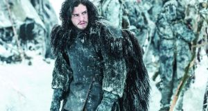 "Kit Harrington as Jon Snow in Game of Thrones. Nobody in Game of Thrones is truly good or bad – they are merely grubby strivers getting by in a cruel and heartless world. In Middle Earth, by contrast, we are led to understand that characters are defined by their morality: Hobbits and elves are predetermined to be ""good"", orcs born ""evil"". Photograph: HBO Enterprises"