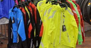 You can buy some raingear for less than €20, but be warned: it may be a false economy.Photograph: Alan Betson