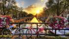 It's probably no coincidence that between 12,000 and 15,000 bikes are hauled out of the city's canals every year. Photograph: Thinkstock