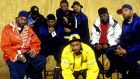 "Wu-Tang forever: the influential hip-hop collective may soon be immortalised on film. ""I think it would be a blessing for American culture. It is really an against-the-odds story,"" said RZA. Photograph: Bob Berg/Getty Images"