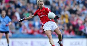 Cork will be without the considerable talents of Valerie Mulcahy this summer and beyond. Photograph: Inpho
