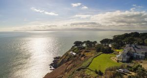 Danes Hollow in Howth is an almost 9,000 sq ft five-bed home on 3.35 acres of terraced gardens. It has uninterrupted sea views and basks from dawn till dusk in its southwesterly aspect.