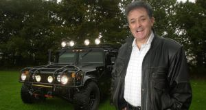 Kevin McGeever with a Hummer. File photograph: Bryan O'Brien/The Irish Times