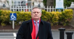 There is increasing pressure on acting Minister for Public Expenditure Brendan Howlin to declare that he will stand for the leadership of the Labour Party. File photograph: Dave Meehan/The Irish Times