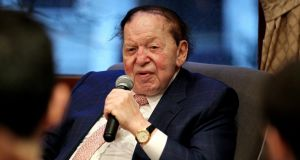 Casino owner Sheldon Adelson: hacked by Iran