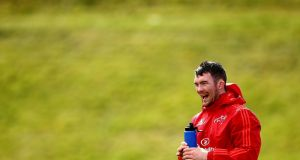 Despite being ruled out by his province, Peter O'Mahony can still make the tour squad to South Africa this summer according to the Ireland setup. Photograph: James Crombie/Inpho