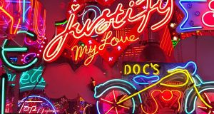 Visit God's Own Junkyard, a neon sign shrine to the work of Chris Bracey, artist and collector