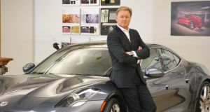 Former Aston Martin designer Henrif Fisker: His company folded after 4,000 Karma plug-in hybrids had been built and sold, but now he's back on more familiar territory – designing a custom-built body for existing mechanicals
