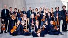The Freiburg Baroque Orchestra who reconceptualised Mozart, in Dublin recently.