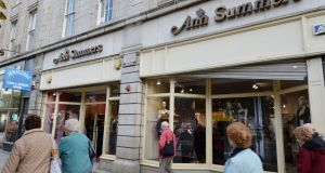 Ann Summers shop on  O'Connell Street, Dublin: The company, which sells a wide range of lingerie and adult toys, said net assets at the end of June totalled €3.6 million, as against €3.5 million a year earlier.  Photograph: Alan Betson/Irish Times