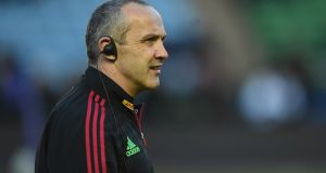 The Harlequins director of rugby, Conor O'Shea. Photograph: Tom Dulat/Getty Images