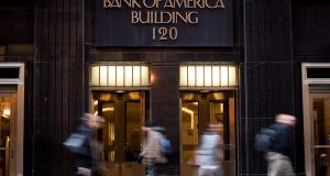"Bank of America  building in Chicago: The ""living will"" plans   are intended to prevent more taxpayer bailouts of big institutions and the kind of chaos sparked by the 2008 collapse of Lehman Brothers. Photograph: Christopher Dilts/Bloomberg"
