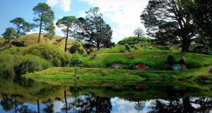 "Hobbit holes in Hobbiton, Matamata, New Zealand. People in Kerry are being forced to live like ""hobbits"" according to Maura Healy-Rae. Photograph: Jackie.Icl/Flickr/Creative Commons"