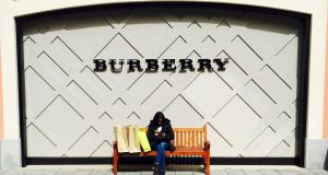 Analysts are questioning the merit of Burberry's chief also being its top designer. Photograph: Reuters