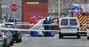 A man has died after being shot in Dublin city on Thursday afternoon. Photograph: Colin Keegan, Collins Dublin