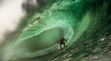 Surfing a prize-worthy wave in Mullaghmore