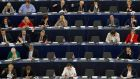 MEPs voting in Strasbourg on Thursday Photograph: Reuters