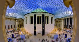 The main quadrangle at the British Museum in London. Photograph: Getty Images