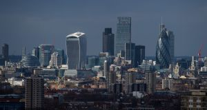 The London skyline. A new bus tour wants to show how money routed through secret accounts in places like the British Virgin Islands is later laundered through London's  property market. File photograph: Dominic Lipinski/PA Wire
