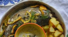 Lilly Higgins: Whole hake with lemon and capers