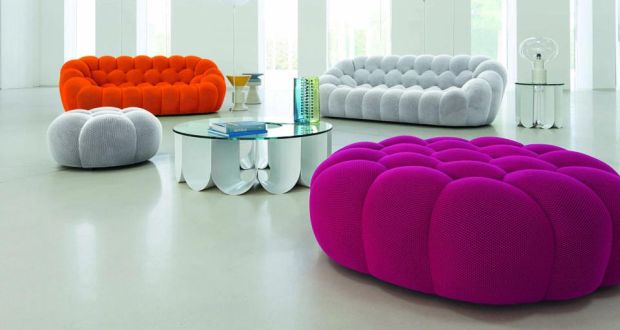 the bubble sofa designed by sacha lakic in