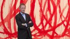 Shaping attitudes: Nicholas Serota (in front of a Cy Twombly painting). Photograph: Justin Tallis/PA Wire