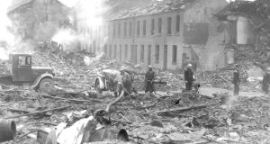 It is estimated that more than 1,000 people died during the Belfast Blitz. Photograph: Belfast Telegraph