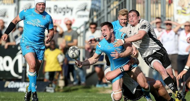 01119a3c9a9938 Tommy Bowe offloads on his scoring return for Ulster. Photograph  Inpho