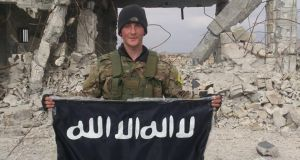 Joshua Molly told a newspaper correspondent in Syria last April he was partly motivated by a desire to fight Isis