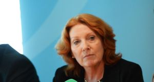 "Minister of State Kathleen Lynch: Requested that agreed allocation for mental health remains in place ""for the duration of the caretaker government and until a new minister is in place"". Photograph: The Irish Times"