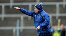 Waterford manager Derek McGrath during the Allianz League semi-final clash with Limerick. Photo: Ryan Byrne/Inpho