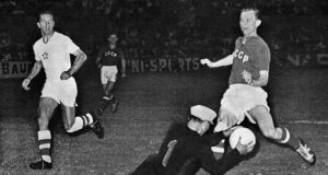 The Soviet Union were victorious in the 1960 European Nations' Cup - but their victory was aided by Spain's boycott. Photograph: Getty