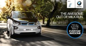 BMW i3 Irish test drive