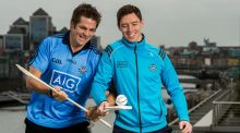 All Black legend  Richie McCaw  was joined by  Dublin hurler Paul Schutte  to  promote AIG Insurance's Telematics car insurance. Photograph:  Stephen McCarthy/Sportsfile