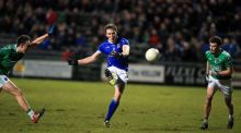 Cavan's Gearoid McKiernan in action against Fermanagh. Photograph: John McVitty/Inpho/Presseye