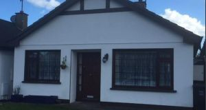 Mitchell Douglas is seeking €325,000 for this three-bedroom bungalow at 4 Meadowbrook, Kilcoole, Co Wicklow