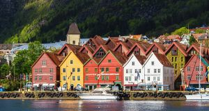 Walk the harbour and see the colourful Hanseatic houses