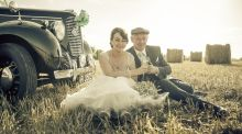 Our Wedding Story: Biker rally romance