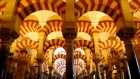 Córdoba's Mosque-Cathedral: its new tourism brochure acknowledges the cathedral's Islamic past. Photograph: Marcelo del Pozo/Reuters