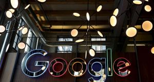 The accusation that Google is abusing the dominant market position of its Android operating system is the latest in a series of clampdowns by the European Commission on US multinational companies. File photograph: Peter Power/Reuters