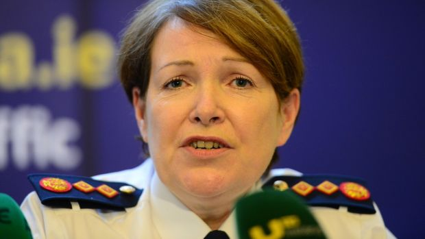 Garda Commissioner Noirin O'Sullivan: determined to create a Garda force that other police organisations around the world would look to as the example of best practice. Photograph: Dara Mac Dónaill