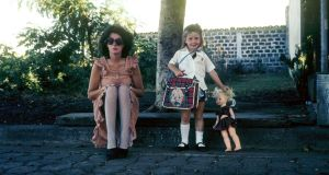 Kathleen Mac Mahon with her mother in Nicaragua in the 1970s