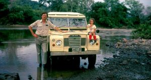 Kathleen MacMahon with her father in Nicaragua in the 1970s