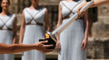 Countdown to Rio Olympics begins as torch is lit in Greece